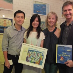 Book Launch at The Fringe Club, Hong Kong
