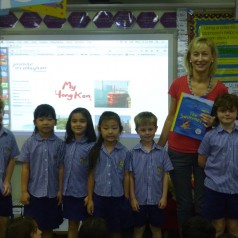 Year 2 Students at Glenealy School