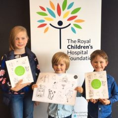Presenting Books to the Royal Melbourne Children's Hospital